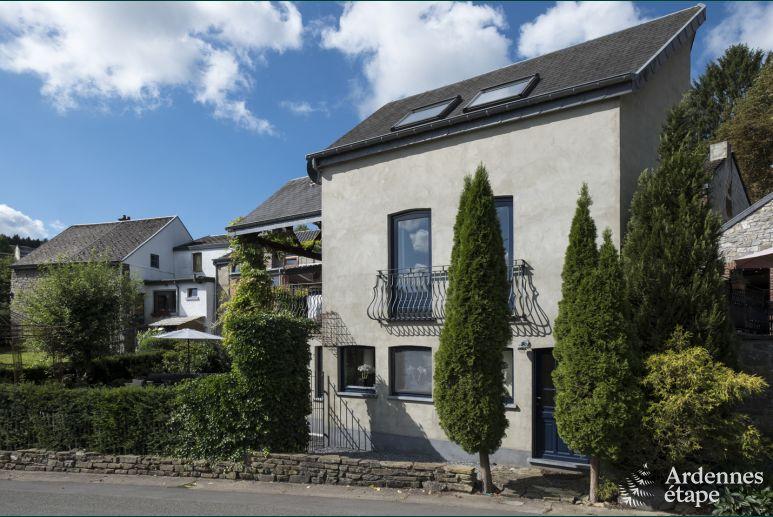 Gezellig Zonnig Balkon : Ferienhaus hamoir 4 pers. ardennen