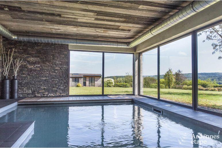 Luxusvilla mit schwimmbad und spitzenkomfort für personen in jalhay