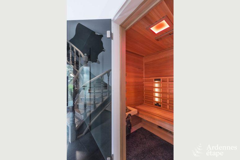 Luxusvilla mit schwimmbad und spitzenkomfort für 14 personen in jalhay