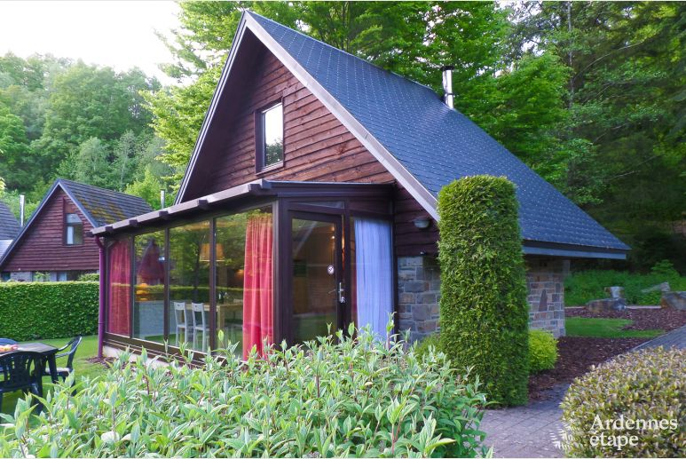Chalet Malmedy 2/4 Pers. Ardennen Schwimmbad Wellness