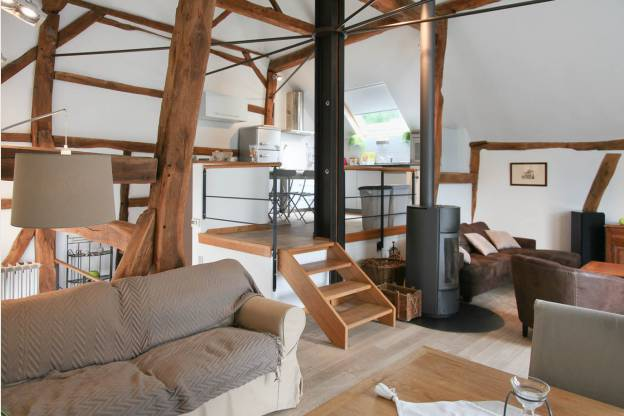 gut ausgestattetes ferienhaus f r 4 personen in somme leuze. Black Bedroom Furniture Sets. Home Design Ideas