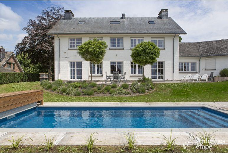 Luxusvilla Fur 9 Personen Mit Garten Swimmingpool Und Wellness In Theux