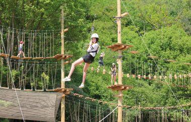Adventure Valley Durbuy-Sports Aventure bis Provinz Luxemburg