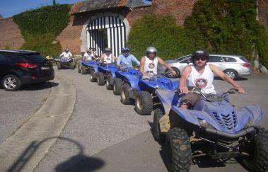 Formul'Quads-Sports Aventure bis Provinz Lüttich