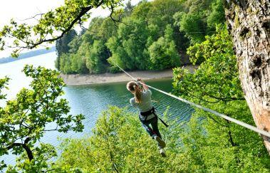 Natura Parc des Lacs de l'Eau d'Heure-Parcours challenge bis Province de Hainaut
