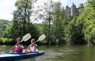 Lesse Kayaks-Kayak bis Provinz Namur