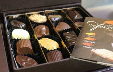 Chocolaterie Defroidmont-Musée bis Provinz Luxemburg
