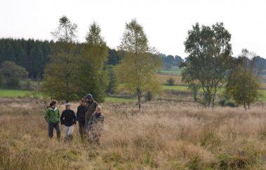 Das Naturschutzgebiet der Emmels-Sites naturels bis Province de Liège.