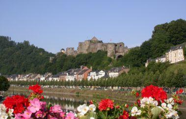 Burg von Bouillon-Chateaux bis Provinz Luxemburg