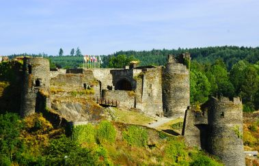 Château Féodal de La Roche-en-Ardenne-Chateaux bis Provinz Luxemburg