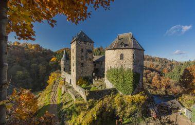 Château de Reinhardstein -Chateaux bis Provinz Lüttich