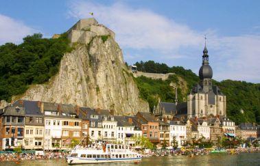 Zitadelle von Dinant-Chateaux bis Provinz Namur