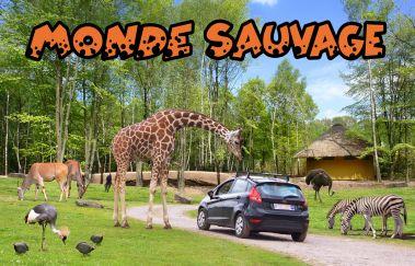 Le Monde Sauvage d'Aywaille-Parcs-animaliers bis Provinz Lüttich