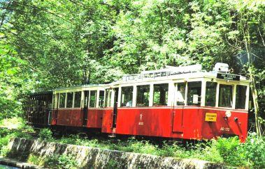 Touristische Straßenbahn der Aisne-Train touristique bis Provinz Luxemburg